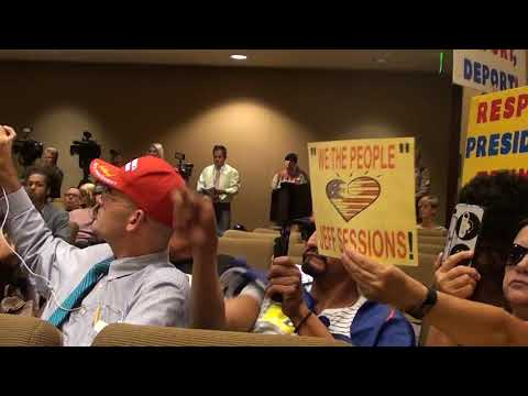 Daughter of LEGAL Immigrant Schools Sheriff Commission About ILLEGAL Lawlessness!