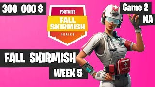 Fortnite Fall Skirmish Week 5 Game 2 NA Highlights (Group 2) - Royale Flush