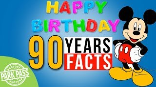 Mickey Mouse 90 Trivia Facts