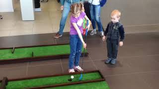 Мини гольф турнир для детей | 2025golf