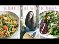 WHAT I EAT ON A BUSY WORK DAY | Vegan & Fast! (Ad)