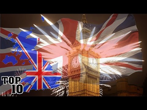 Top 10 Facts About England
