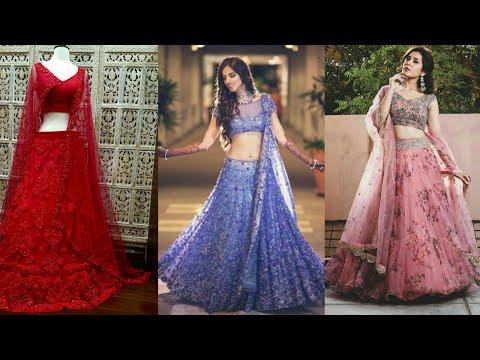 Indian  Lehnga Choli Latest And Beautiful  Designs