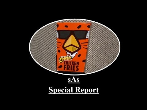 sAs Special Report: Burger King Cheetos Chicken Fries (NEW!) (Limited Edition!)