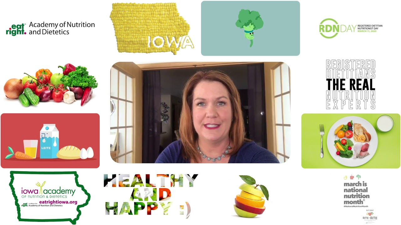 National Nutrition Month 2020 - Alison St Germain