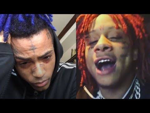 XxxTentacion Reacts to Trippie Redd Sayin He Gonna Run Up on Him