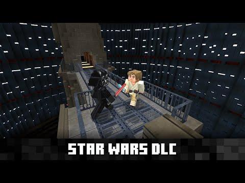 Star Wars flyttar in i Minecraft Mojang släpper DLC