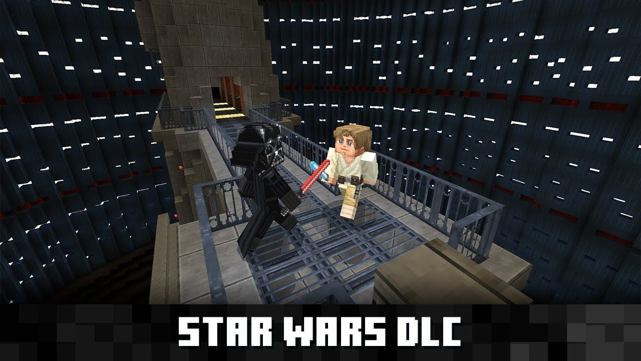 Minecraft S Star Wars Dlc Includes The Mandalorian Cbr