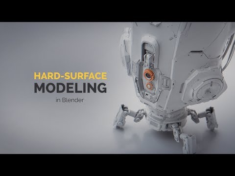Hard Surface Modeling in Blender | Intro & Promo