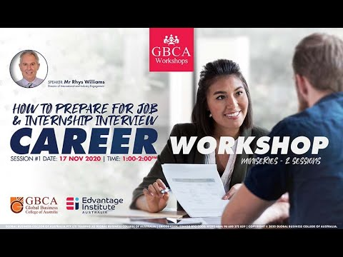 Online Career Workshop