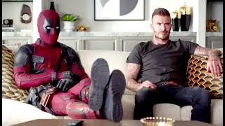 "DEADPOOL 2 ""Deadpool Meets David Beckham"" Clip (2018) Ryan Reynolds Marvel Movie HD"