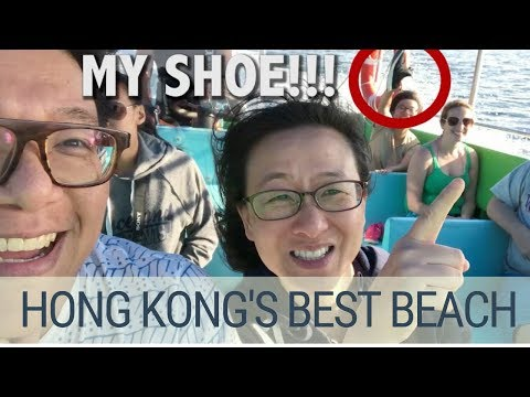 The best beach in Hong Kong - Tai Long Wan (Big Wave Bay) Sai Kung