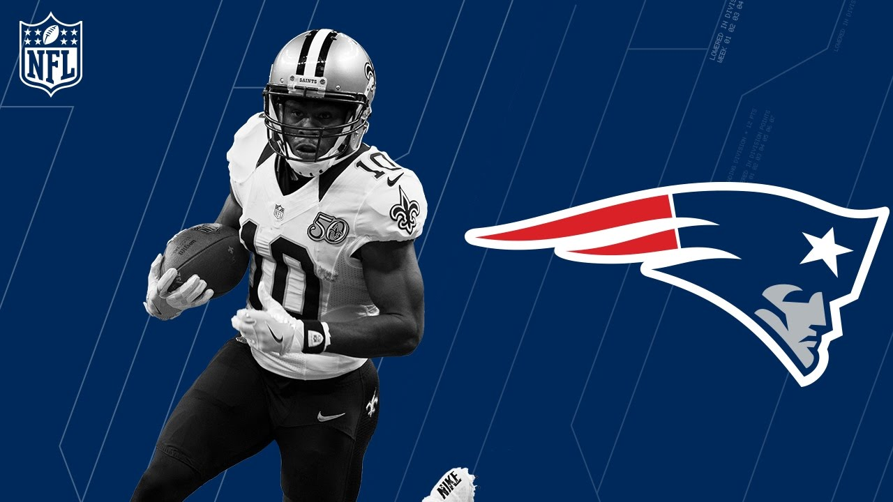 free shipping 3b3de 74439 Brandin Cooks Welcome to the New England Patriots | 🚨Trade Alert!🚨 | NFL
