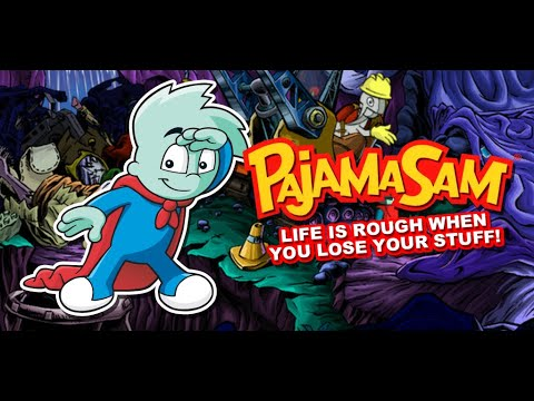 Pajama Sam 4 Life Is Rough When You Lose Your Stuff Gameplay #2 Giant Slingshot |