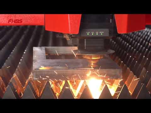 F6325TDE Baisheng Laser - Corte de Aço Carbono 30mm Inox 20mm Laser Fibra Óptica Máquina Industrial