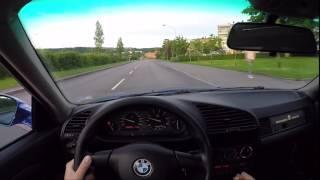 1991-1998  BMW 325 E36 POV/ Street Drift Acceleration