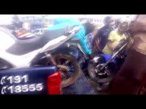 LAPAZ SHOOTING, ONE ARMED ROBBER DEAD, TWO ON THE RUN FOR DAYLIGHT ROBBERY