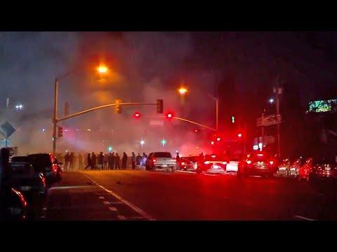 Multiple Sideshows Keep San Jose Police Busy on Halloween