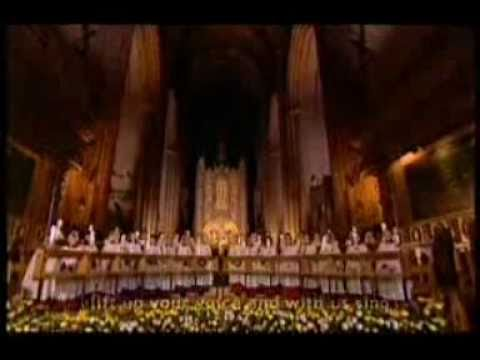 Liverpool Cathedral Choir - All creatures of our God and King