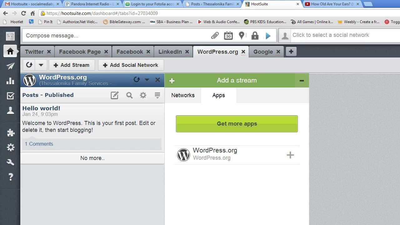 WordPress App for HootSuite Tutorial
