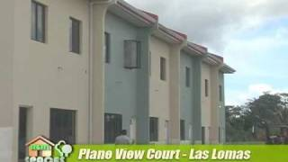 real spaces las lomas plane view townhouses