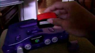 How install expansion pak in N64