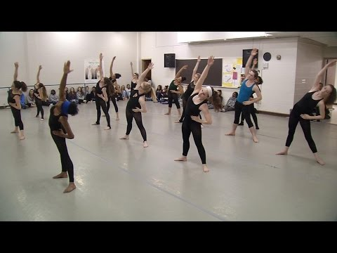 Alvin Ailey Dance Theater Teaches Masterclass