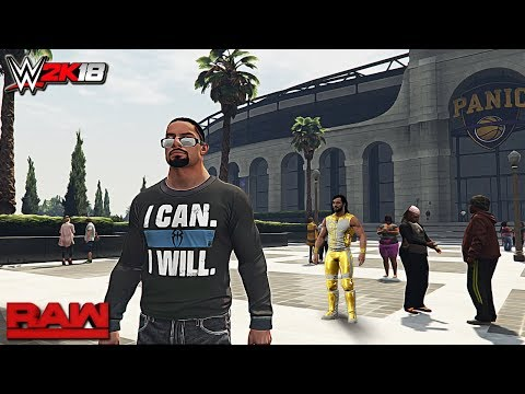 WWE 2K18 Story Mode - Life as Roman Reigns Raw 2017 ft. Rollins, Lesnar (Concept) Part 1