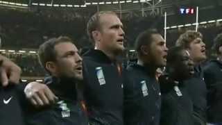 Match de Rugby - France - Nouvelle-Zélande (All Blacks) Hymne nationale & Haka !