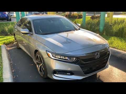 Problems and dislikes of my 2018 Honda Accord Sport 1.5L Turbo short review after one year ownership