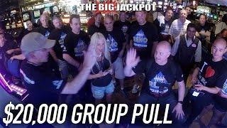 WOW! 😱$20,000 GROUP PULL 🎰 EXCITING NIGHT #1 🎰The Atlantis Casino ➡ Reno, NV with The Big Jackpot