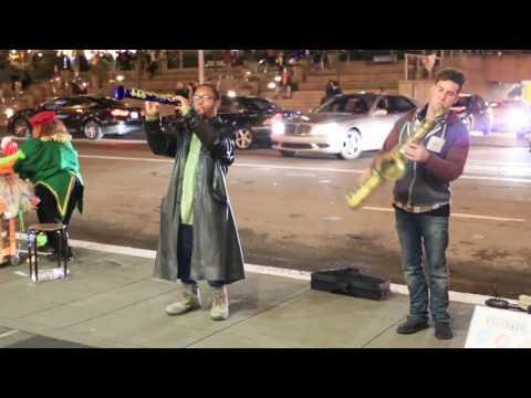 Justin ward music Union square performance
