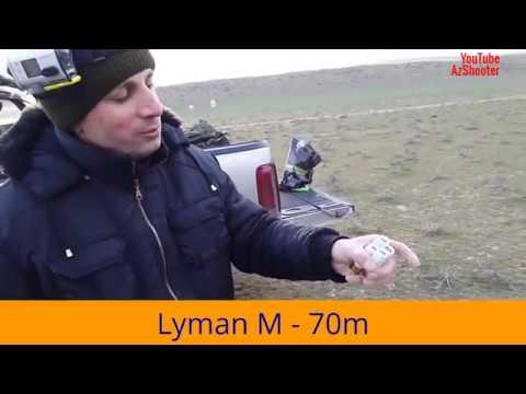 Test Lyman Sabot-(M)-(M1) Brenneke-35-70-100m Ata Arms Neo 12&Stoeger2000 Slug