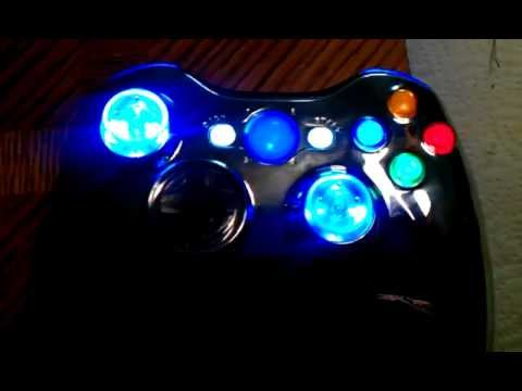 Xcm led xbox 360 controller mod youtube xcm led xbox 360 controller mod ccuart Gallery