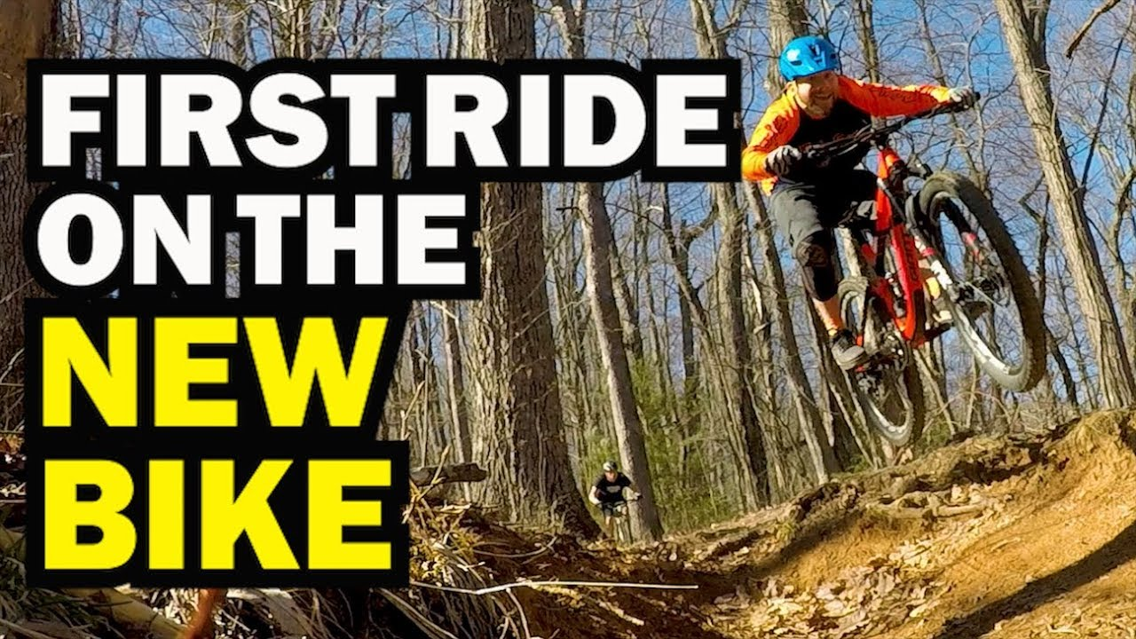 ef13915c5dd First Ride On the New Bike   Bennett Gap Pisgah NC - YouTube
