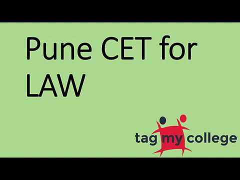 Pune Common Entrance Test Law 2017 | Pune CET 2017 | Tagmycollege.com