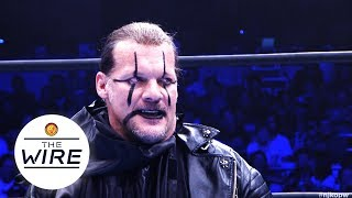 The Wire: Chris Jericho's First IWGP Intercontinental Championship Defense