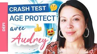Audrey Marshmaloo met au DÉFI la routine anti-âge AGE PROTECT Uriage | CRASH TEST !