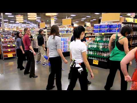 Fred Meyer Flash Mob 2  The Cha Cha