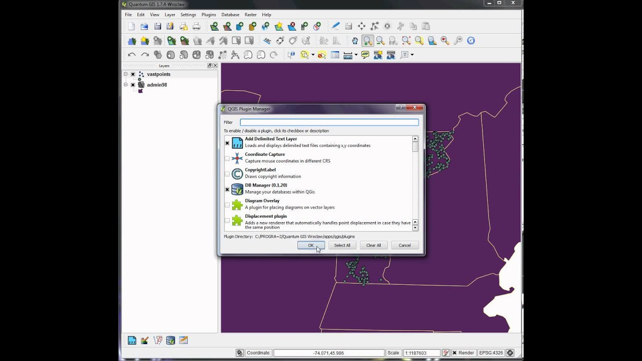 Tutorial 27: Importing GPS data to QGIS as GPX, CSV or KML