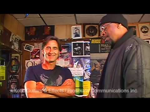 Interview with Allen Hinds & Melvin Davis at the Baked Potato Dec 8 2009