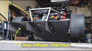 Making Functional Carbon Fiber Rear Diffuser and Flat Floor - E55 ASL Part 20