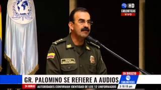 Despedidos tres policías por presunto escándalo sexual contra gral Palomino
