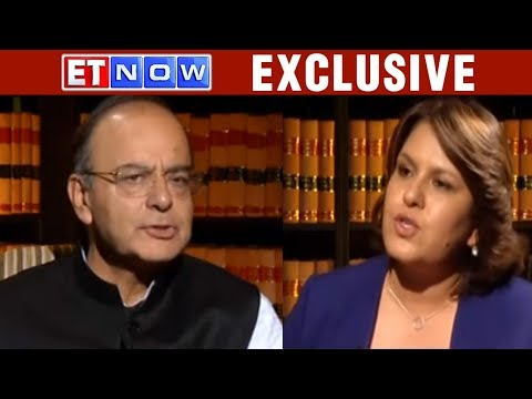 GST Special: Arun Jaitley LIVE | ET NOW - The Big Interview