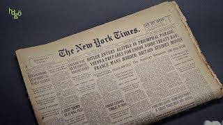 Haus der Geschichte Österreich, New York Times, März 1938