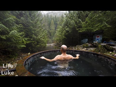 Soaking & Cleaning Clear Creek Hot Springs