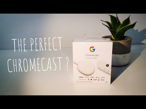 GOOGLE CHROMECAST - With Google TV ( 2020 ) / UNBOXING