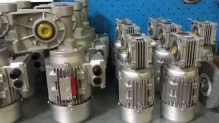 видео Использование одноступенчатых червячных редукторов