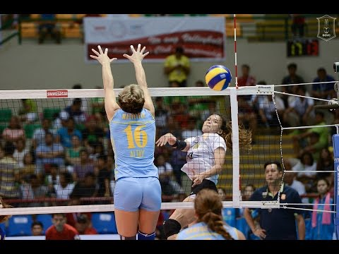 Thailand vs Kazakhstan | 11 Sep 2016 | 3rd Place | 2016 Asian Women's Club Volleyball Championship