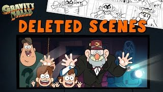 Gravity Falls: DELETED Scenes & Storylines - Never Before Seen!